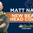 BREAKING: Chicago Bears New Head Coach Matt Nagy Loves on QB Mitch Trubisky