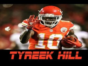 2020-21 NFL Computer Predictions and Rankings Player News  tyreek players other fastest
