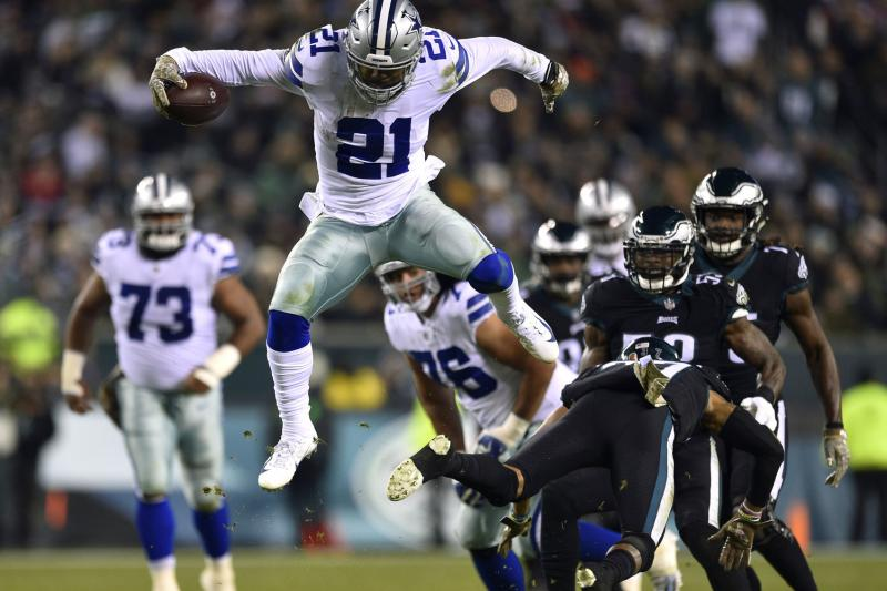 2020-21 NFL Computer Predictions and Rankings Film Study Football Highlights Player News  unleashes study power ezekiel elliott dallas changing