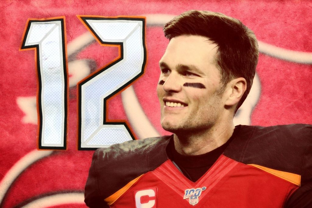 2020-21 NFL Computer Predictions and Rankings NFL Forecasting Opinion Player News Tom Brady  winners reacts buccaneers bratty brady