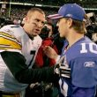 Ben Roethlisberger worries on Eli Manning benching