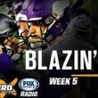 "<h1> <p style = ""color:#013369"">Colin Cowherd's Blazing 5 Picks for  NFL Week 5 </h1>"