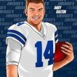 "<h1> <p style = ""color:#013369"">FILM STUDY: Dallas 2020's New QB Andy ""Frickin"" Dalton </h1>"