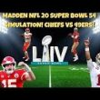 "<h1><p style = ""color:#013369"">WATCH:  Madden Superbowl 54 Simulation - Who Wins? 49ers or Chiefs? </h1>"
