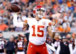 2021-22 NFL Computer Predictions and Rankings Player News  watch quarterback patrick mahomes