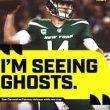 "<h1> Jets' QB Sam Darnold ""Sees Ghosts"" Versus Patriots </h1>"