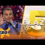 """<h1> <p style = """"color:#013369"""">Colin Cowherd's Blazing 5  Game Picks for Week 11 </h1>"""