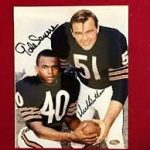 "<h1> <p style = ""color:#013369"">WATCH: Can You Bear It? RB Gayle Sayers and MLB Dick Butkus </h1>"