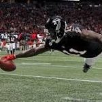 "<h1> <p style = ""color:#013369"" > Atlanta WR Julio Jones aka ""Dr. Scary"" </h1>"