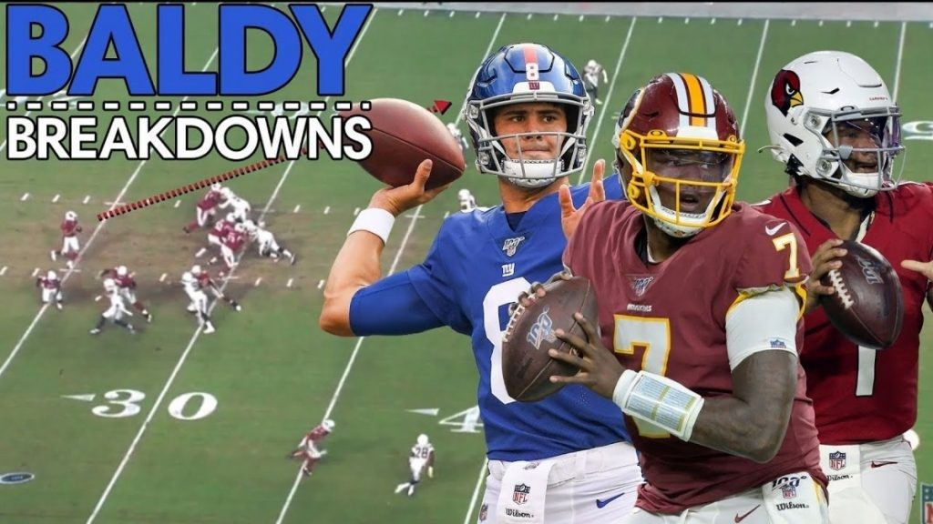 2020-21 NFL Computer Predictions and Rankings Film Study Player News Quarterbacks Videos  study murray jones haskins dwayne debut daniel