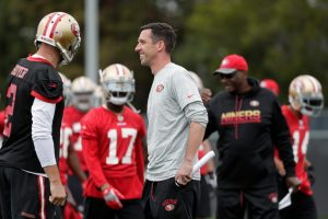 2020-21 NFL Computer Predictions and Rankings Coaches Team News  shanahan helping coach believe 49ers