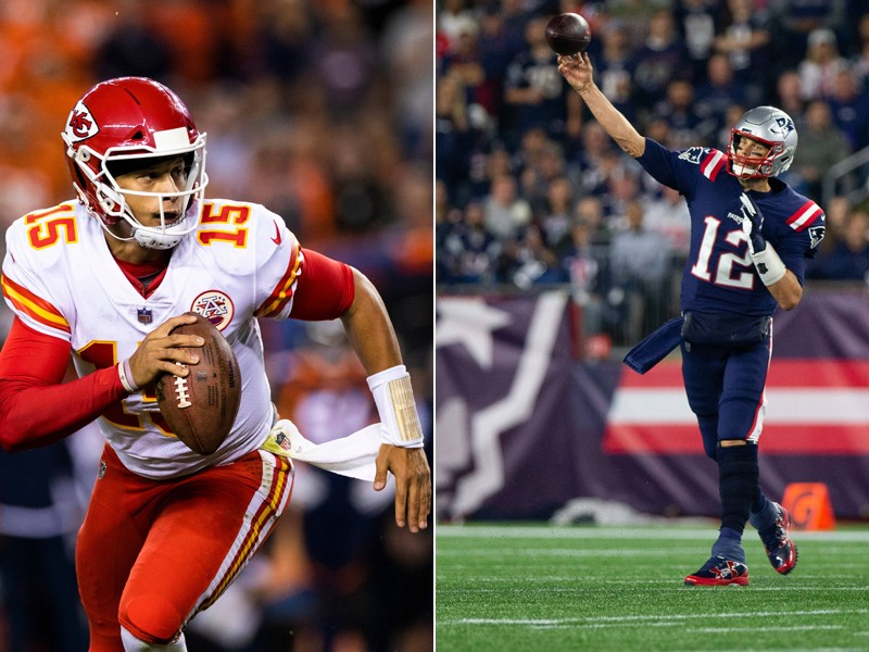 2021-22 NFL Computer Predictions and Rankings Film Study Highlights NFL Strategy Player News Quarterbacks Tom Brady Videos  study mahomes brady