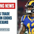 "<h1><p style = ""color:#013369"">ALERT: WR Brandin Cooks has Been Traded to Texans </h1>"