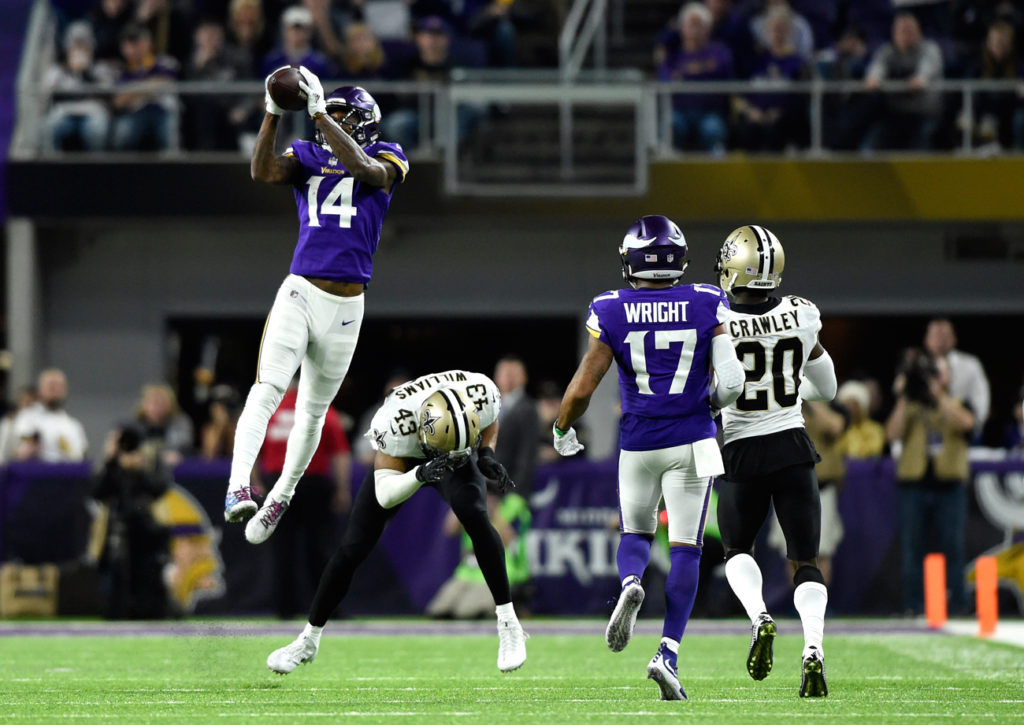 2020-21 NFL Computer Predictions and Rankings Football Football games Highlights  vikings touchdown second saints pulled mystifying