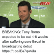Kill! Kill! Tony Romo Calling Plays Before They Even Happen