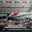 Patriots flying high: first NFL team to own planes