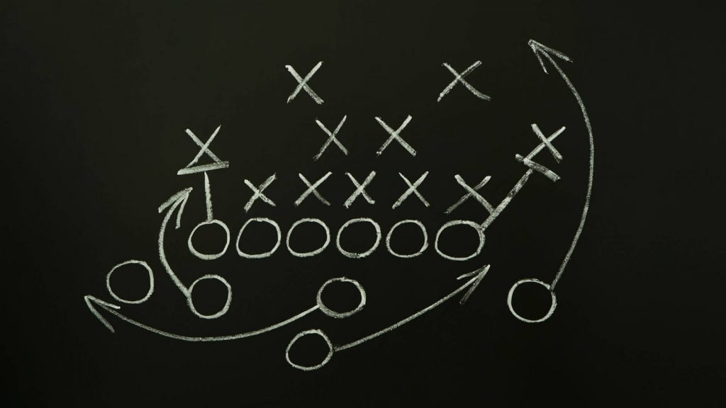 2020-21 NFL Computer Predictions and Rankings Film Study Motivational NFL Strategy  study reads defense
