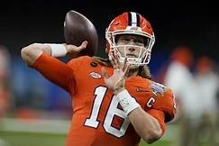 2021-22 NFL Computer Predictions and Rankings NFL Draft Quarterbacks  watch trevor style lawrence color 013369