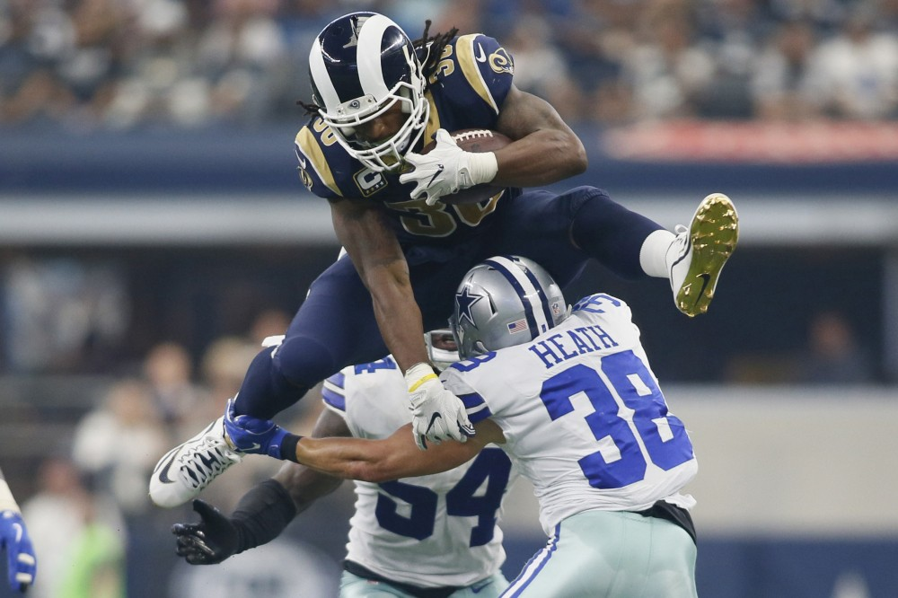 2019-20 NFL Computer Predictions and Rankings Player News  gurley ff-winners week 2 could