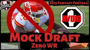 2019-20 NFL Computer Predictions and Rankings Fantasy Football Strategy Podcasts  receiver drafting